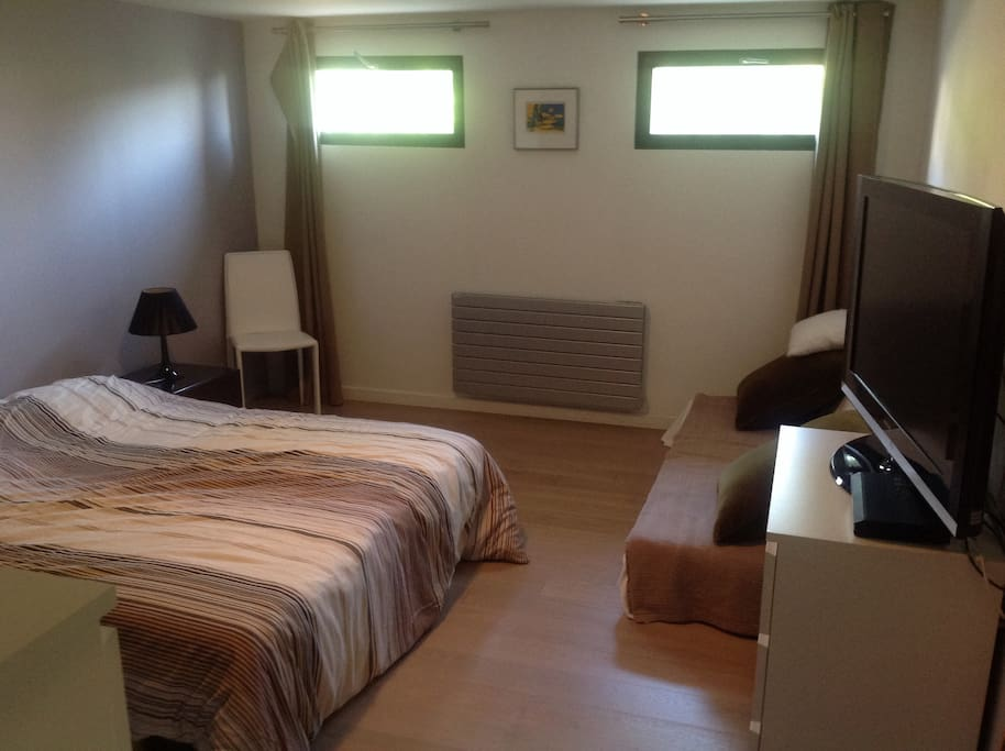 Chambre spacieuse 25m2