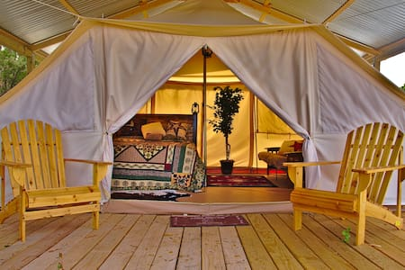 Texas  Glamping and wilderness experience