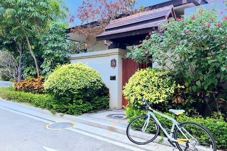 星海传说泰式别墅内两房一厅出租 - Lingshui - Villa
