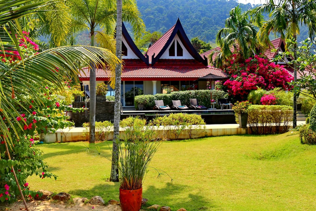 koh chang beach front 5 br w pool h user zur miete in th thailand. Black Bedroom Furniture Sets. Home Design Ideas