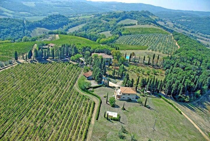 Vittoriana 3 - Casale per vacanze con piscina a San Gimignano, Toscana