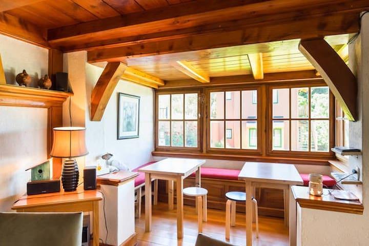 Double Private Room at La Barraca - San Carlos de Bariloche - Oda + Kahvaltı