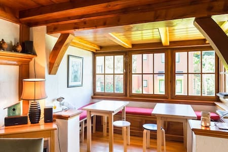Double Private Room at La Barraca - San Carlos de Bariloche - Bed & Breakfast