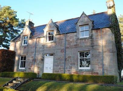 Balloan Cottage, Dornoch, Scotland - Casa