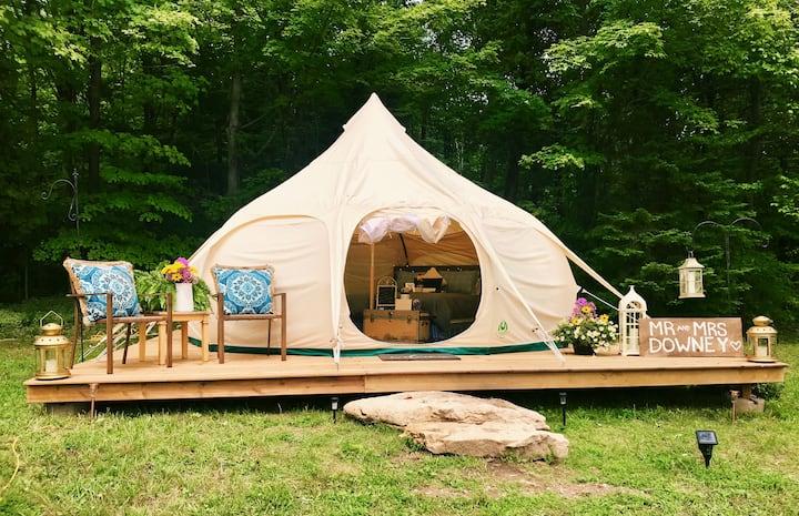 Elegant Lotus Belle Tent, Rockhill Park