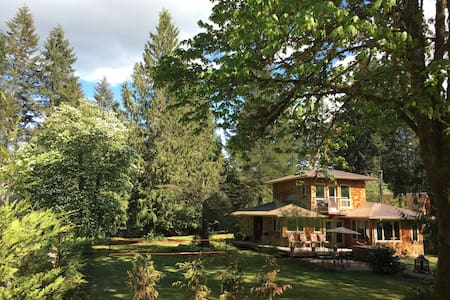 Private Quiet Country Lake Home - Port Alberni