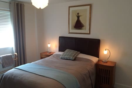 Quiet room near Edinburgh Airport. - Edimburgo