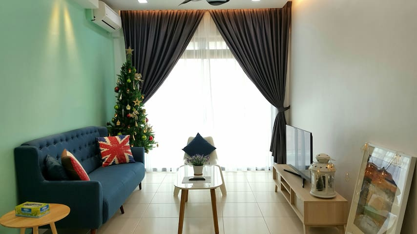 Near Legoland/UTM - 2 Bedroom with mountain view - Skudai - Appartement