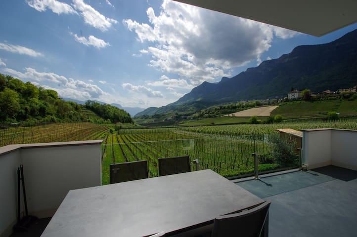 Duplex- Wohnung für 4-5 Personen mit Terrasse