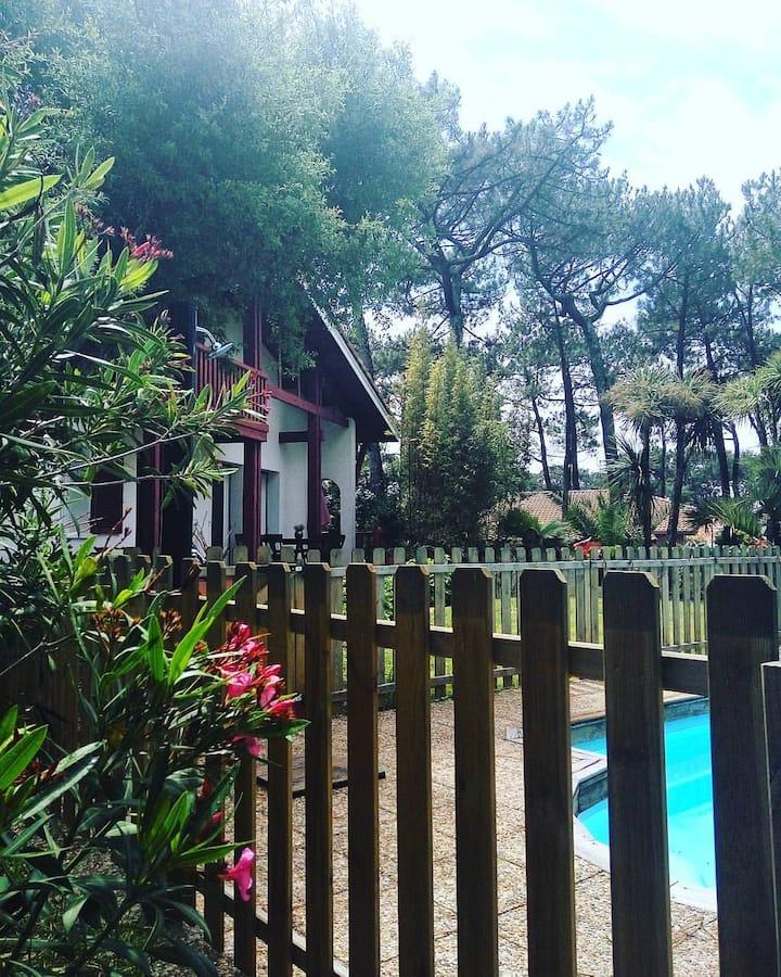 Maysoe Villa 12 pers avec piscine 400m de la plage