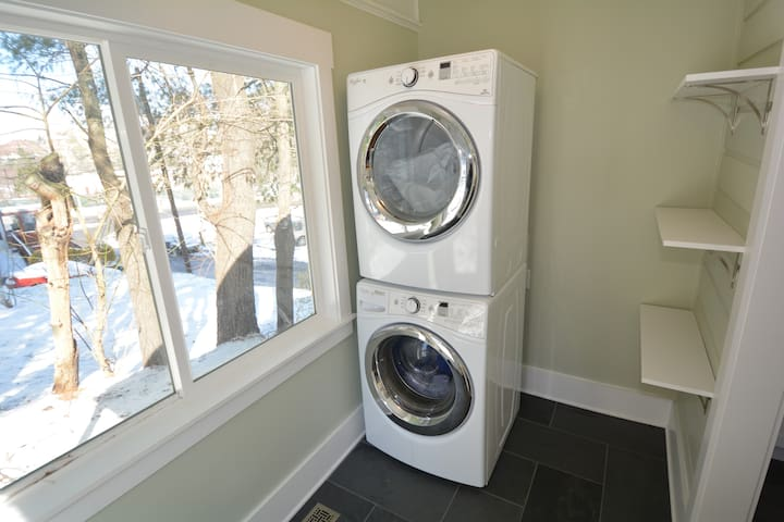 Gas dryer and HE washer