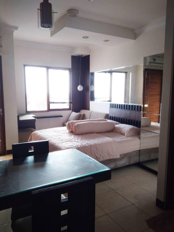 MURAH Apartemen Studio di Dekat Wisata Lembang