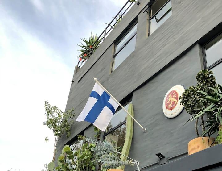Habitación De lujo Sencilla en Casa Finlandia