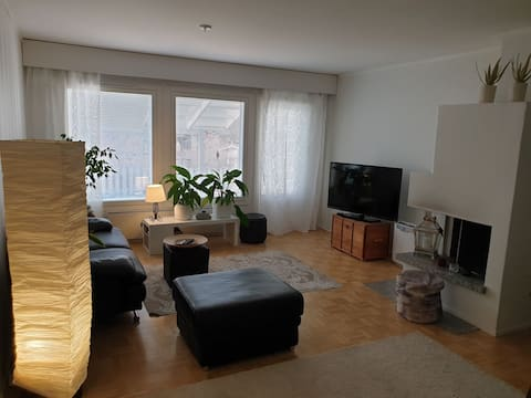 Peaceful duplex near to airport and Helsinki.