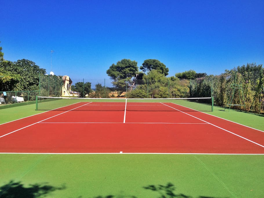 Campo da tennis gratuito