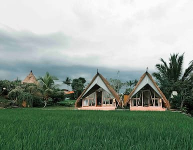 Padi Shack-Stunning Rice Field View in Ubud
