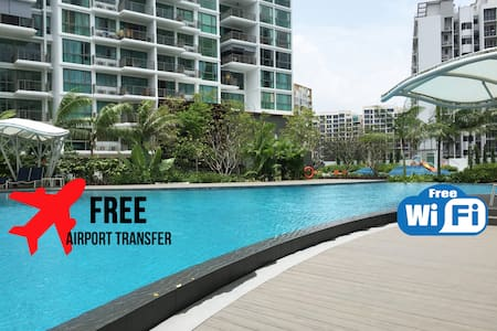 NEW Luxury 2-BR Beach House, FREE Airport Shuttle! - Singapour