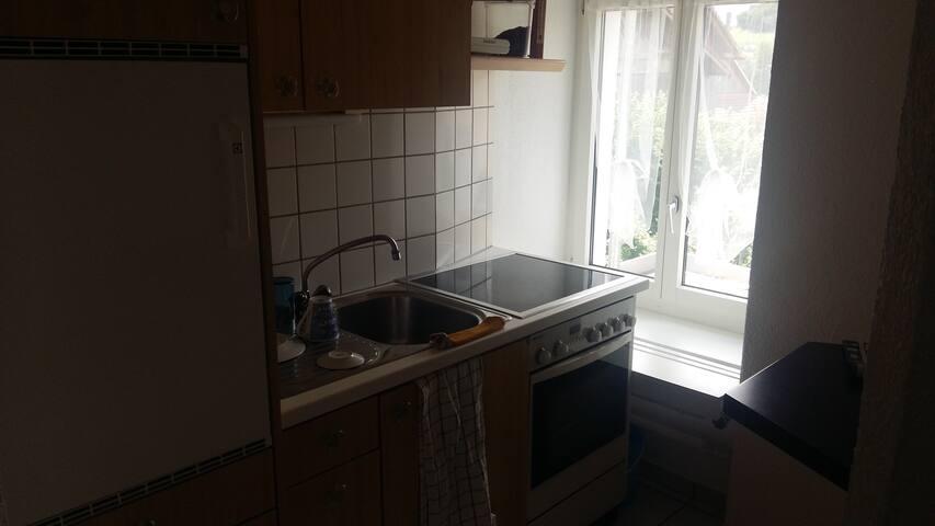 1 zimmer, Küche Bad Wohnung