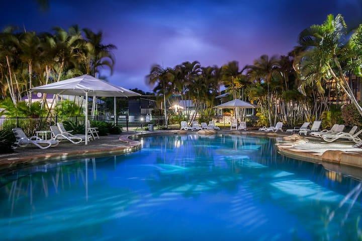 Great Location, Cosy Noosa Riverside Resort Living
