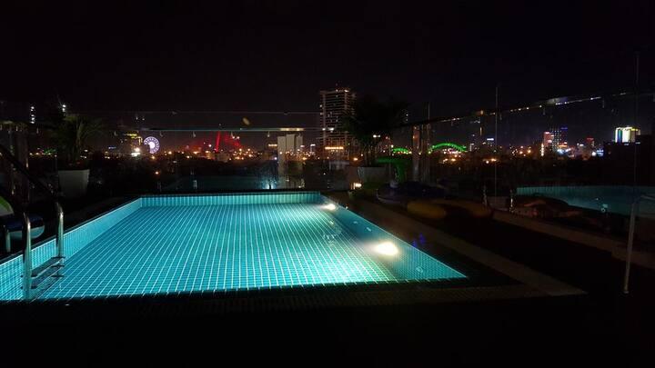 Sing House-Twin room *Pool* #1