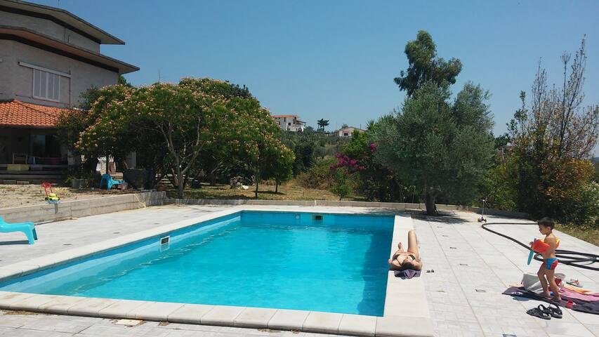 Appartamento in Villa con piscina - Campodivivo - Vila