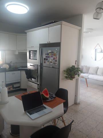 Calm White Modern Apartment