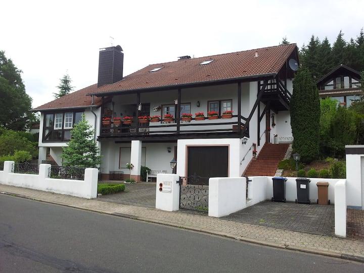Landhaus im Fachwerkstil in der Eifel