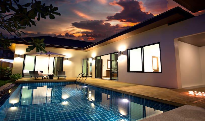 Private Pool Villa 2 bedrooms near Big Buddha#18