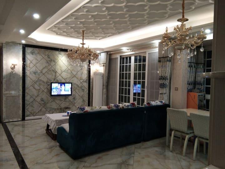 《天悦府》馨家居3居室兰卡公园里的家、欧式田园的装修风格舒适惬意的生活方式更懂你