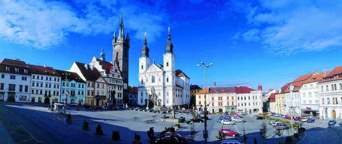 Apartmán v šumavském městečku - Janovice nad Úhlavou - Huoneisto