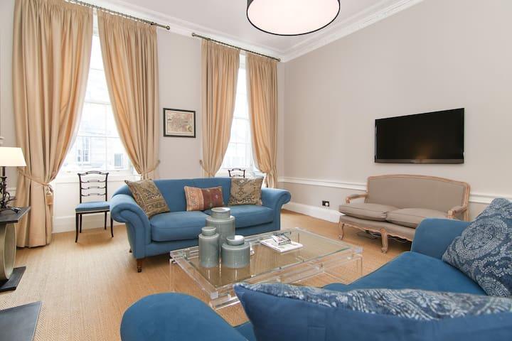 Stylish & majestic 3-bed apartment in Stockbridge