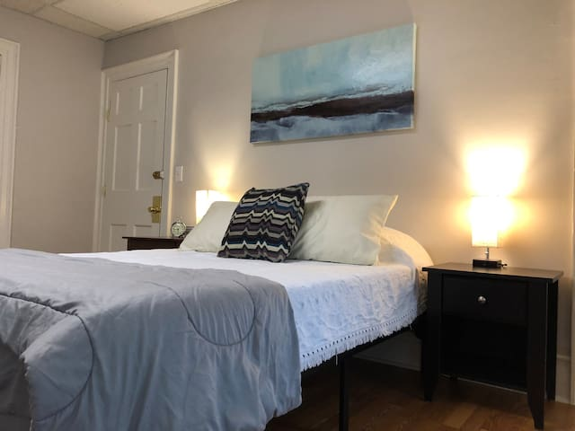 Downtown Troy - Cozy, Sunny - Queen BD, Laundry