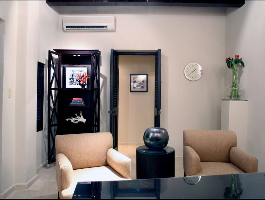 Downstairs private office fully equipped with printer, fac and wifi
