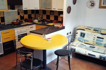 Cozy home at 5 min from Train station - Oulx - Huis