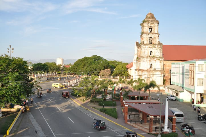Picturesque view of historic old town