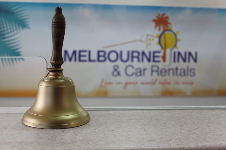 """Melbourne Inn, """"Live in your world, relax in ours"""""""