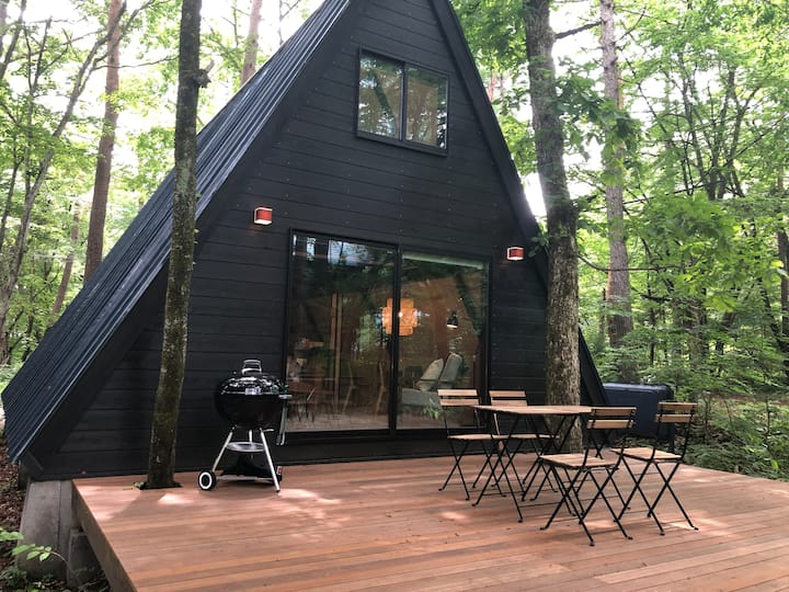 Sobae Sanso - Adorable A-Frame Cottage