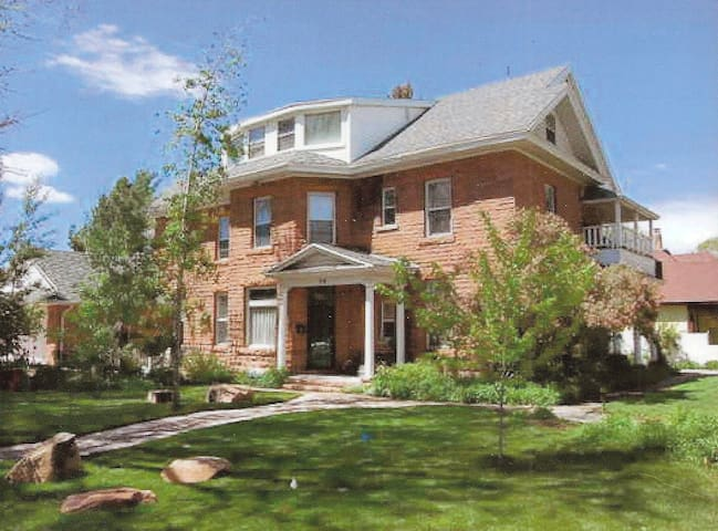 Historic Heber City Home - Master Suite