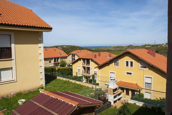 Apartamento de 2 habitaciones con vistas al mar