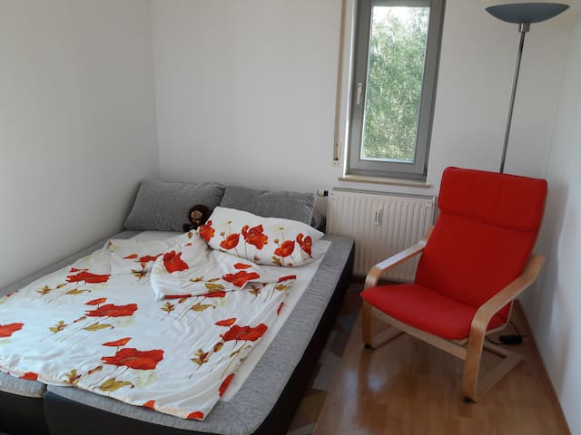 Cute room in green neighbourhood close to the city