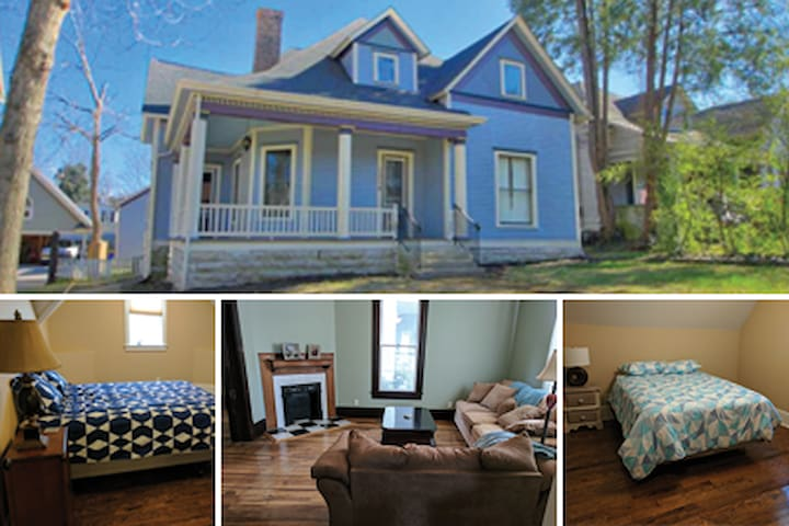 Modern 1905 Victorian: get ready to be charmed!