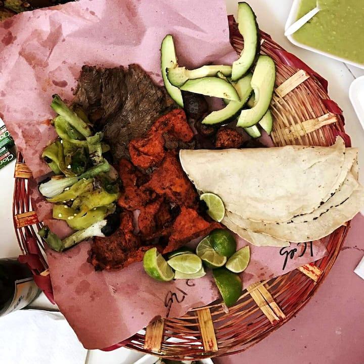 Traditional Food of Mercado.
