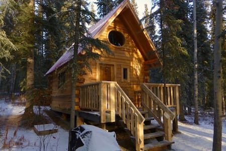 Birdhouse/ Off-the-grid Cabin, Marsh Lake, YT