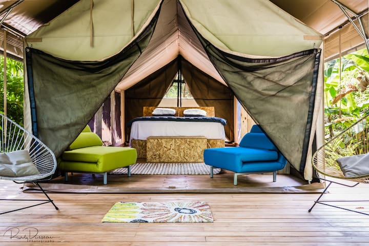 Glamping Safari Tent~Libélula Boutique Resort