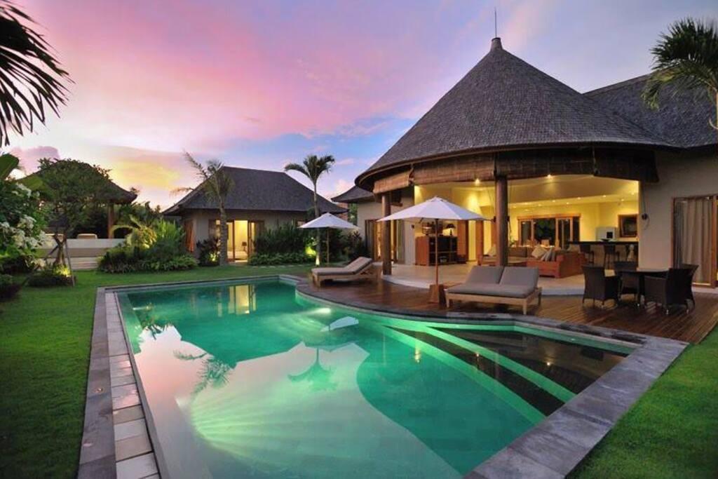 Enjoy at pool