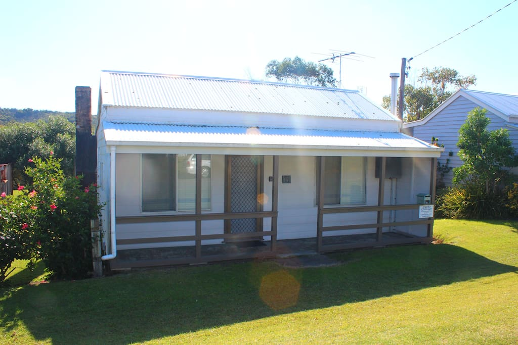 Front of Catho Cottage