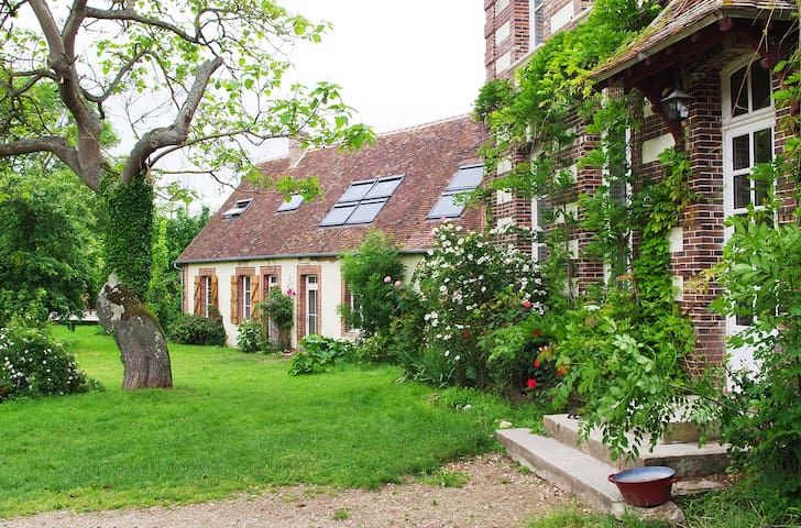 Our guesthouse is in what used to be the staff's quarters when the farm was owned by the Cognac family.