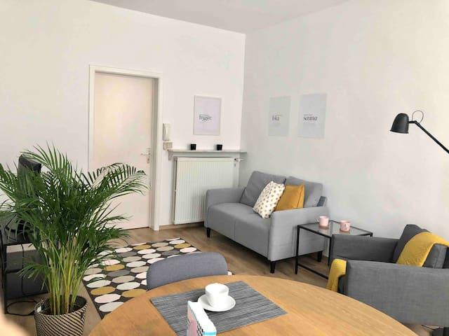 Gezellig 2persoons appartement in hartje Antwerpen