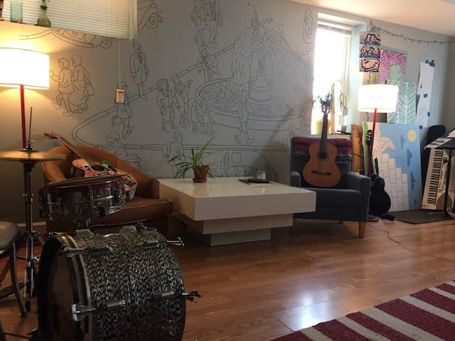 Private bed in the heart of Humboldt Park - Chicago - Apartemen