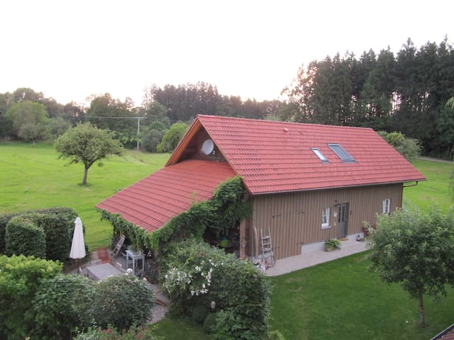 Gemütliche Wohnung (Luis) im Grünen - Amtzell - Byt